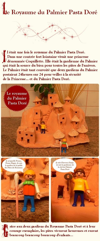 Touwity - Le conte du Palmier Pasta Doré